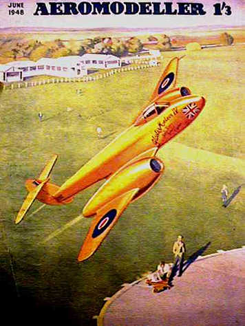 Cover, Aeromodeller June 1948