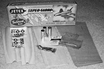 Super Sabre kit contents