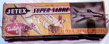 Super Sabre kit box