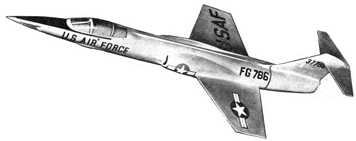 F-104 Starfighter (from Sebel ad)