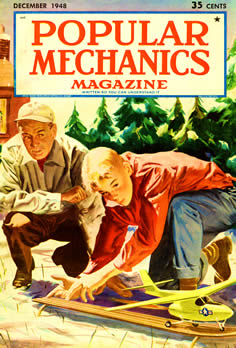 Cover - Popular Mechanics, Dec. 1948