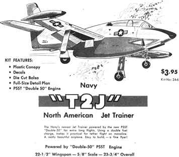 NA T2J Trainer advertisement