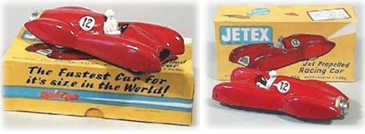 Jetex Jet Propelled Racing Car