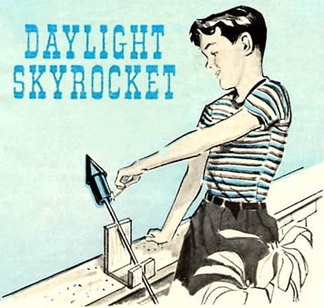 Daylight Skyrocket